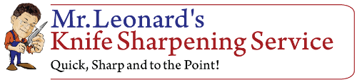 Mr. Leonard's Knife Sharpening Service Logo